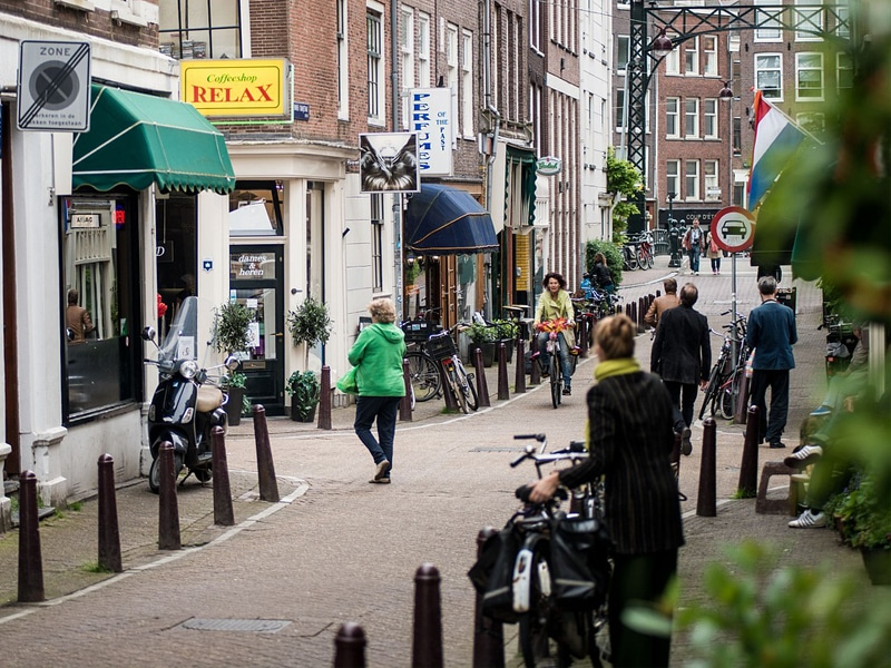 Picture of Coffee shop in Amsterdam - This is a NOT a place to get coffee.