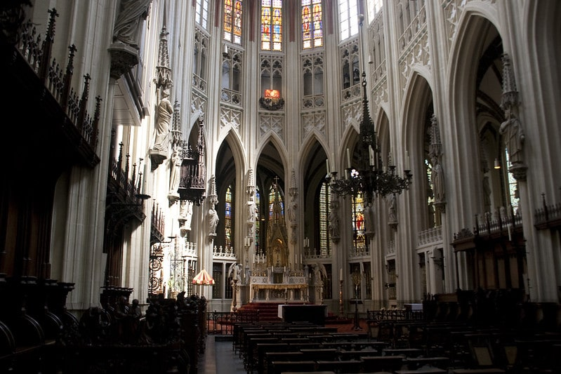The interior of the St. Jan Cathedral in Den Bosch - Photographer: Anja Disseldorp - CC BY 2.0