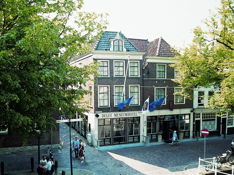 Front of the Museum Hotel in Delft