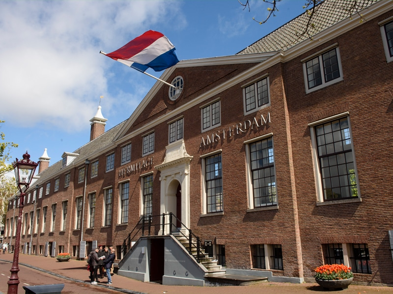 Front Entrance Hermitage Amsterdam