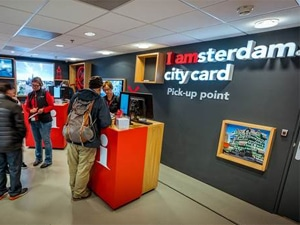 I amsterdam Store and Pick Up point Amsterdam Airport Schiphol.