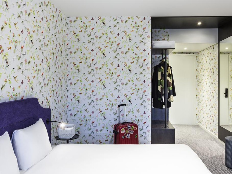 Room at the ibis Styles Amsterdam Airport hotel.
