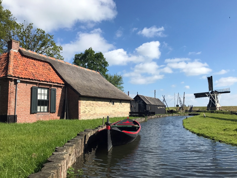 This photo was taken at the Zuiderzee Museum in Enkhuizen, Holland.